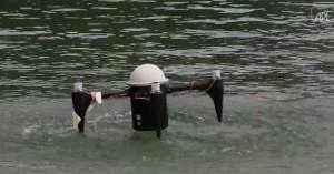 Drone in grado di restare due mesi sott'acqua
