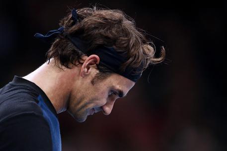 Roger Federer nella foto Ansa