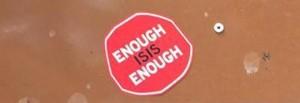 """Enough Isis Enough"": adesivi anti-jihadisti a Roma"