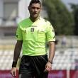 Arbitro Eugenio Abbatista salvato da tifoso dell'Avellino