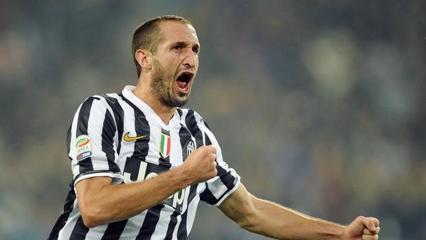 Juventus, Giorgio Chiellini nella foto Ansa