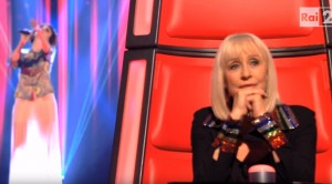 Federica Vincenti si esibisce a The Voice