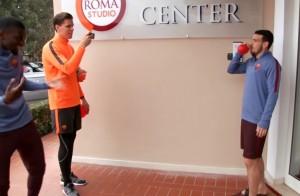 Roma, calciatori vs tifosi con contest Unexpectedbet Sisal