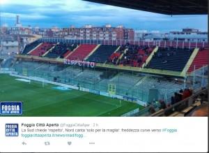 Guarda la versione ingrandita di Foggia-Siena 6-1: FOTO via twitter Foggia Città Aperta @FoggiaCittaAper