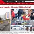 Bruxelles, aeroporto: passeggeri sotto choc dopo bombe26