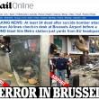 Bruxelles, aeroporto: passeggeri sotto choc dopo bombe25
