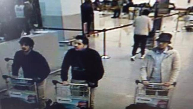 Bruxelles, FOTO attentatori all'aeroporto di Zaventem2