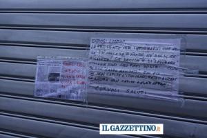"""Guarda la versione ingrandita di Padova, 4 furti in un mese. Avviso: """"Più nulla da rubare"""""""