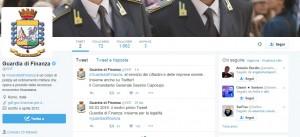 Guarda la versione ingrandita di Guardia di Finanza su Twitter: profilo ufficiale @gdf