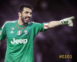 Gigi Buffon record: Su facebook lettera a tutti i compagni