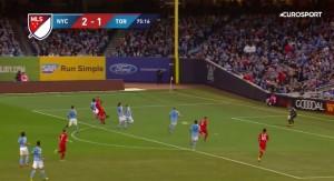Giovinco segna a Pirlo, dribbling e tiro imparabile