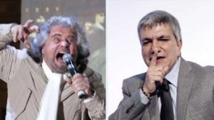 """Grillo contro Vendola: """"Ho paura dei sentimenti low cost"""""""