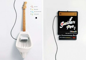 YOUTUBE Guitar Pee: assoli di chitarra facendo pipì