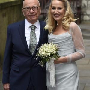 Rupert Murdoch e Jerry Hall sposi in chiesa FOTO 7