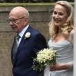 Rupert Murdoch e Jerry Hall sposi in chiesa FOTO 3