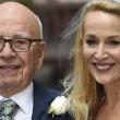 Rupert Murdoch e Jerry Hall sposi in chiesa FOTO 4