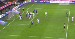 Inter-Bologna 2-1, pagelle-highlights: D'Ambrosio decisivo