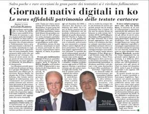 Giornali online, i perché di un fallimento (Italia Oggi)