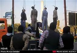 Esecuzione pubblica a Teheran