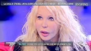 Ivana Spagna, ospite di Barbara D'Urso a Domenica Live