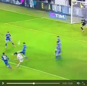 Guarda la versione ingrandita di Juventus-Sassuolo 1-0, il gol di Dybala