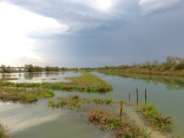 La laguna veneta oltre Venezia