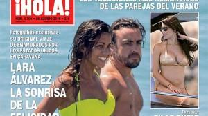 Fernando Alonso - Lara Alvarez, storia finita causa privacy 6