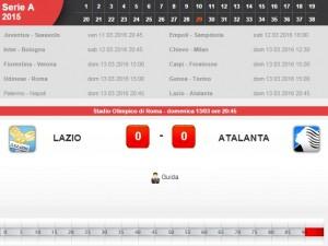 Lazio-Atalanta: diretta live su Blitz