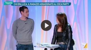 """Luca Varani, amico Federico a Tagadà: """"Era attratto da..."""""""