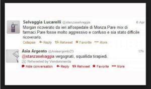 Selvaggia Lucarelli-Asia Argento: scontro iniziato nel 2013