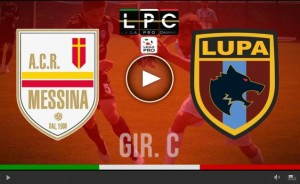 Lupa Castelli Romani-Messina Sportube streaming diretta live