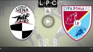 Guarda la versione ingrandita di Lupa Roma-Siena Sportube: streaming diretta live