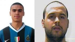"""Kamikaze El Bakraoui """"travestito"""" da giocatore dell'Inter"""