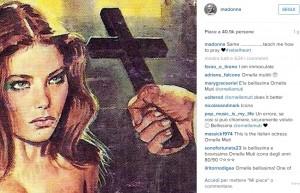 """Guarda la versione ingrandita di Madonna posta foto di Ornella Muti: """"Insegnami a pregare"""""""