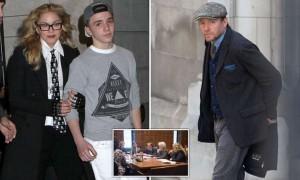 Guarda la versione ingrandita di Madonna: il figlio resterà a Londra con papà Guy Ritchie