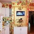 Russia: appartamento ricoperto d'oro, anche il water8