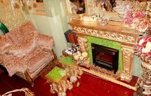 Guarda la versione ingrandita di Russia: appartamento ricoperto d'oro, anche il water FOTO