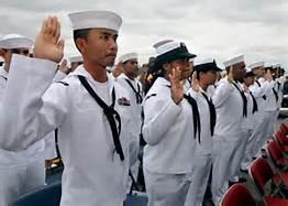 Marinai Usa a Okinawa