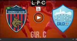 Matera-Cosenza Sportube-Raisport1: streaming e diretta tv