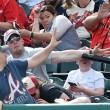 Mazza da baseball su viso bambino, il tifoso vicino... FOTO