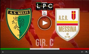 Messina-Melfi Sportube: streaming diretta live