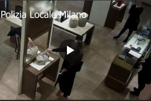 VIDEO 59mila euro di acquisti con carte clonate, arrestata