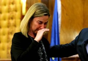 Mogherini e Meloni, liti da comari sulle lacrime