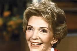 Nancy Reagan ai tempi della Casa Bianca
