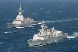 Navi Nato nel Mediterraneo