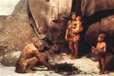 Guarda la versione ingrandita di Una famiglia di Neanderthal