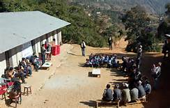 La scuola ricostruita