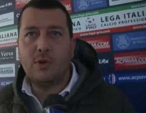 Nicola Bignotti, direttore generale del Pavia
