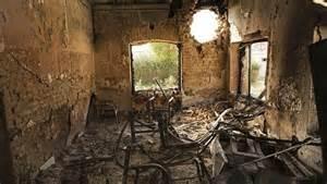 L'ospedale bombardato