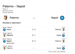 Guarda la versione ingrandita di Palermo-Napoli, streaming-diretta tv: dove vedere Serie A